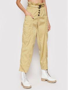 Pinko Spodnie materiałowe Botanica 1N137D Y7M5 Beżowy Regular Fit