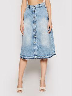 Liu Jo Spódnica jeansowa UA1125 D4343 Niebieski Regular Fit
