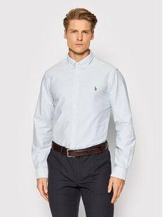Polo Ralph Lauren Koszula Core Replen 710549084 Niebieski Slim Fit