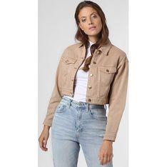 Kurtka damska Edited beżowa jeansowa
