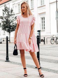 Sukienka damska 026DLR - różowa