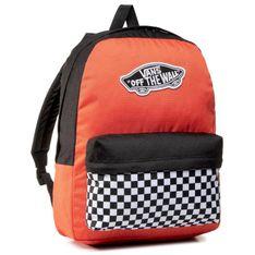 Plecak VANS - Realm Backpack VN0A3UI6ZKF1  Paprika/Checkerboard