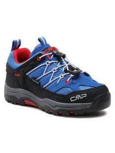 CMP Trekkingi Kids Rigel Low Trekking Shoe Wp 3Q54554 Niebieski