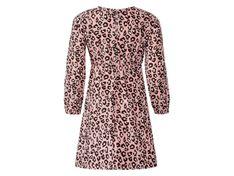 LUPILU® Zestaw dziewczęcy 2-częściowy (sukienka, legginsy), 1 komplet (98/104, Wzór/jasnoróżowy)
