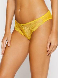 Gossard Figi klasyczne z wysokim stanem Superboost Lace 7723 Żółty