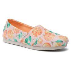Półbuty TOMS - Alpargata 10016253 Pale Pink/Sunkissed Oranges