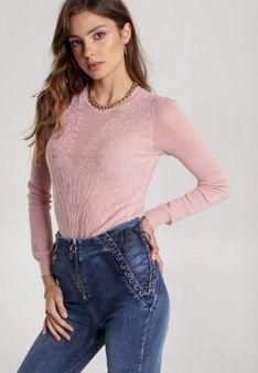 Różowy Sweter Themiphaia