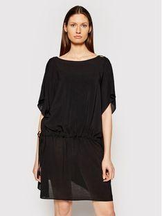 Chantelle Sukienka plażowa Seashell C20H60 Czarny Regular Fit