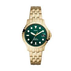 Zegarek FOSSIL - FB-01 ES4746 Gold/Green
