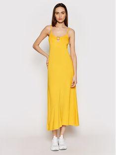 Emporio Armani Sukienka letnia 262483 1P315 03862 Żółty Regular Fit