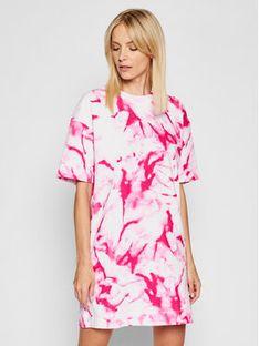 Calvin Klein Jeans Sukienka codzienna J20J215678 Biały Relaxed Fit