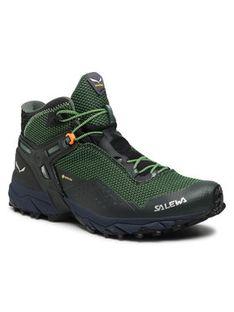 Salewa Trekkingi Ms Ultra Flex 2 Mid Gtx GORE-TEX 61387 Zielony