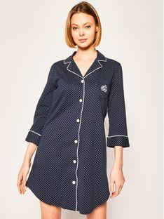 Lauren Ralph Lauren Koszulka piżamowa I813702 Granatowy Regular Fit