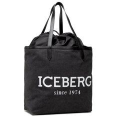 Torebka ICEBERG - 21E P2P1 7208 6904 9000 Black