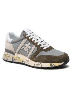 Premiata Sneakersy Lander 5195 Szary