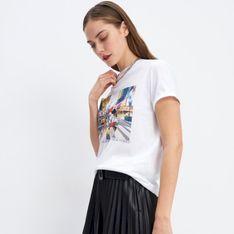 Mohito - T-shirt z nadrukiem Disney - Biały