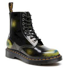 Glany DR. MARTENS - 1460 Pascal 26585001 Black/Marsh Green/Dark Teal