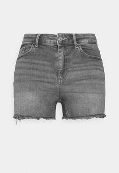 ONLY Petite - Szorty jeansowe - szary