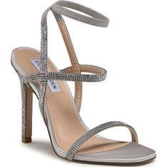 Sandały damskie Steve Madden z tworzywa sztucznego na szpilce eleganckie
