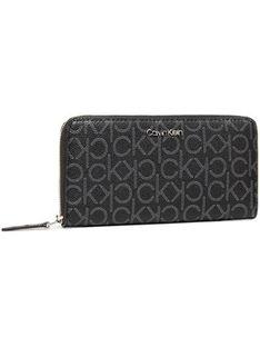 Calvin Klein Duży Portfel Damski Z/A Wallet Lg K60K607451 Czarny