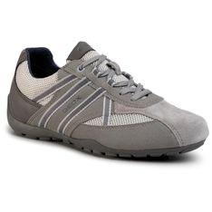 Sneakersy GEOX - U Ravex C U023FC 0AU14 C9014 Stone/Lt Grey