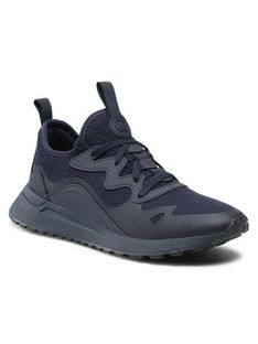 MICHAEL Michael Kors Sneakersy Nolan Knit Trainer 42S1NOFS1D Granatowy