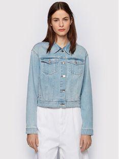Boss Kurtka jeansowa 1.0 Light 50448340 Niebieski Relaxed Fit