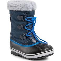 Buty zimowe dziecięce Sorel śniegowce sznurowane