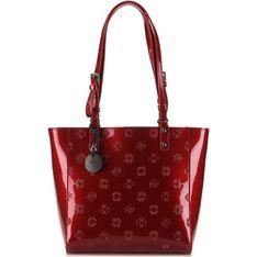 Shopper bag Wittchen lakierowana