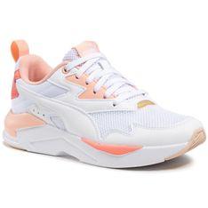 Sneakersy PUMA - X-Ray Lite 374122 14 Whi/WhiBlush/Georiga Blush