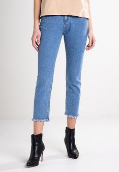 Lee - Jeansy Straight Leg - niebieski