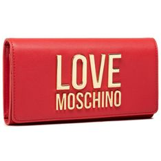 Duży Portfel Damski LOVE MOSCHINO - JC5614PP1CLJ050A Rosoo