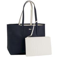 Torebka LACOSTE - Shopping Bag NF2142AA Dark Sapphire Marshmallow C93