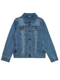 NAME IT Kurtka jeansowa Tpims 13187686 Niebieski Regular Fit