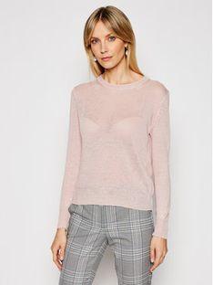Weekend Max Mara Sweter Teiera 53610711 Różowy Regular Fit