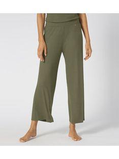 Triumph Spodnie piżamowe Climate Control 10207540 Zielony