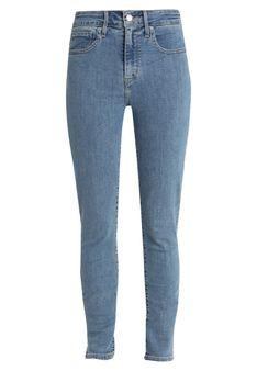 Levi's® - Jeansy Skinny Fit - jasnoniebieski