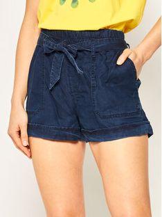 Pepe Jeans Szorty materiałowe Sadie Island PL800902 Granatowy Regular Fit