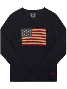 Polo Ralph Lauren Sweter Hunter 321668285001 Granatowy Regular Fit