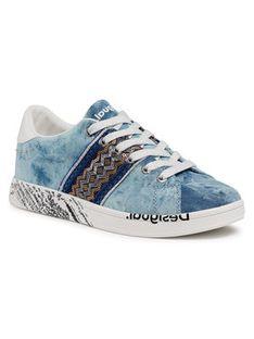 Desigual Sneakersy Cosmic 21SSKA16 Niebieski