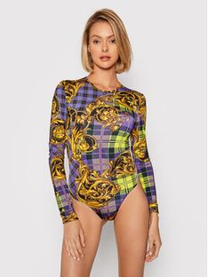 Versace Jeans Couture Body 71HAM221 Kolorowy Regular Fit