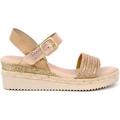 Qualä sandały damskie z klamrą