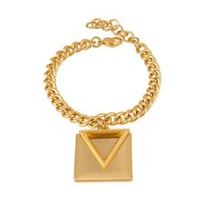 Bransoletka trójkąt i kwadrat