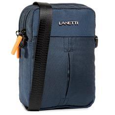 Saszetka nerka LANETTI - BMR-S-087-90-05 Cobalt Blue