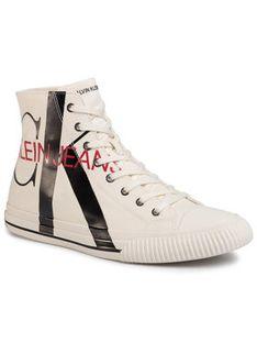 Calvin Klein Jeans Trampki Iglis B4S0639 Biały