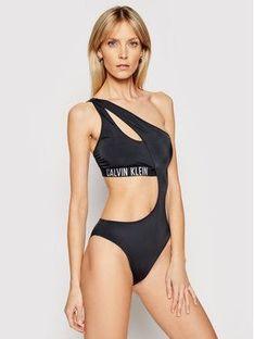 Calvin Klein Swimwear Strój kąpielowy Intense Power KW0KW01332 Czarny