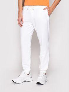 Guess Spodnie dresowe Adam M1RB37 K6ZS1 Biały Slim Fit