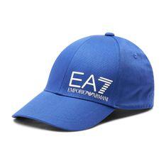 Czapka z daszkiem EA7 EMPORIO ARMANI - 275936 1P103 23134 Diva Blue