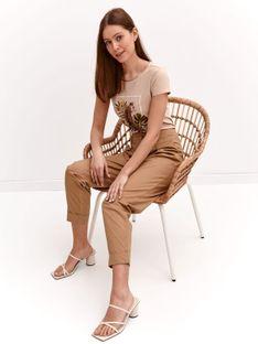 T-shirt damski z gepardem