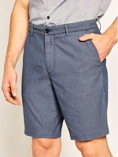 Boss Szorty materiałowe Slice 50425514 Niebieski Regular Fit